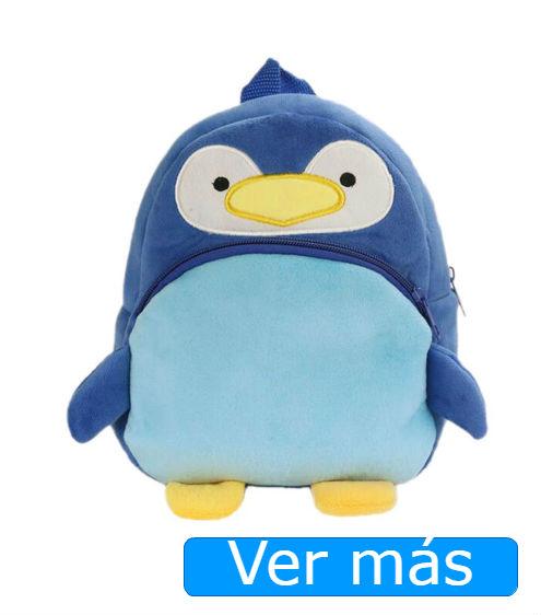 Mochilas de guardería pingüino