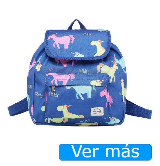 Mochilas de unicornios: con solapa tipo bolso
