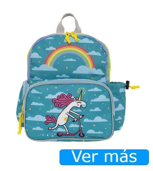 Mochilas de unicornios mochila con bolsillo térmico