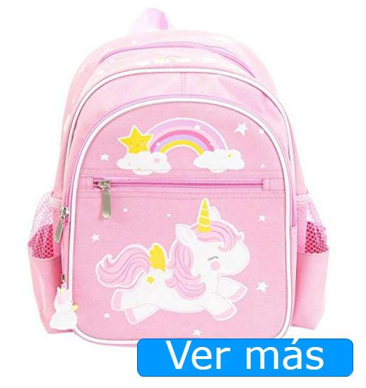 Mochilas de unicornios mochila rosa