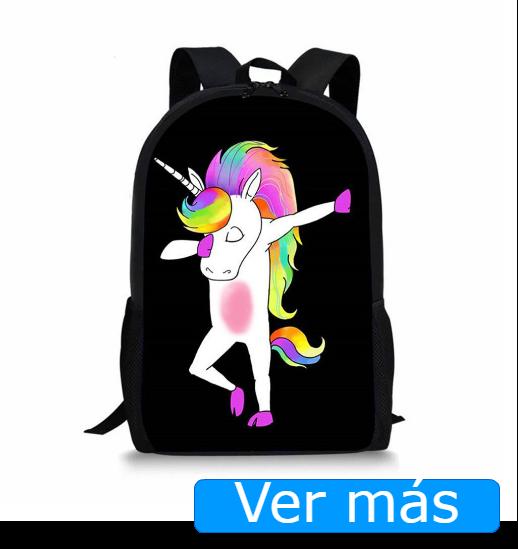 Mochilas de unicornios: mochila con unicornio bailando