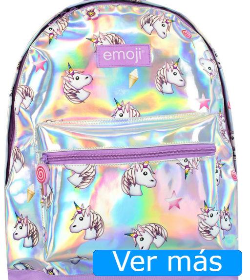 Mochilas de unicornios: mochila tornasolada