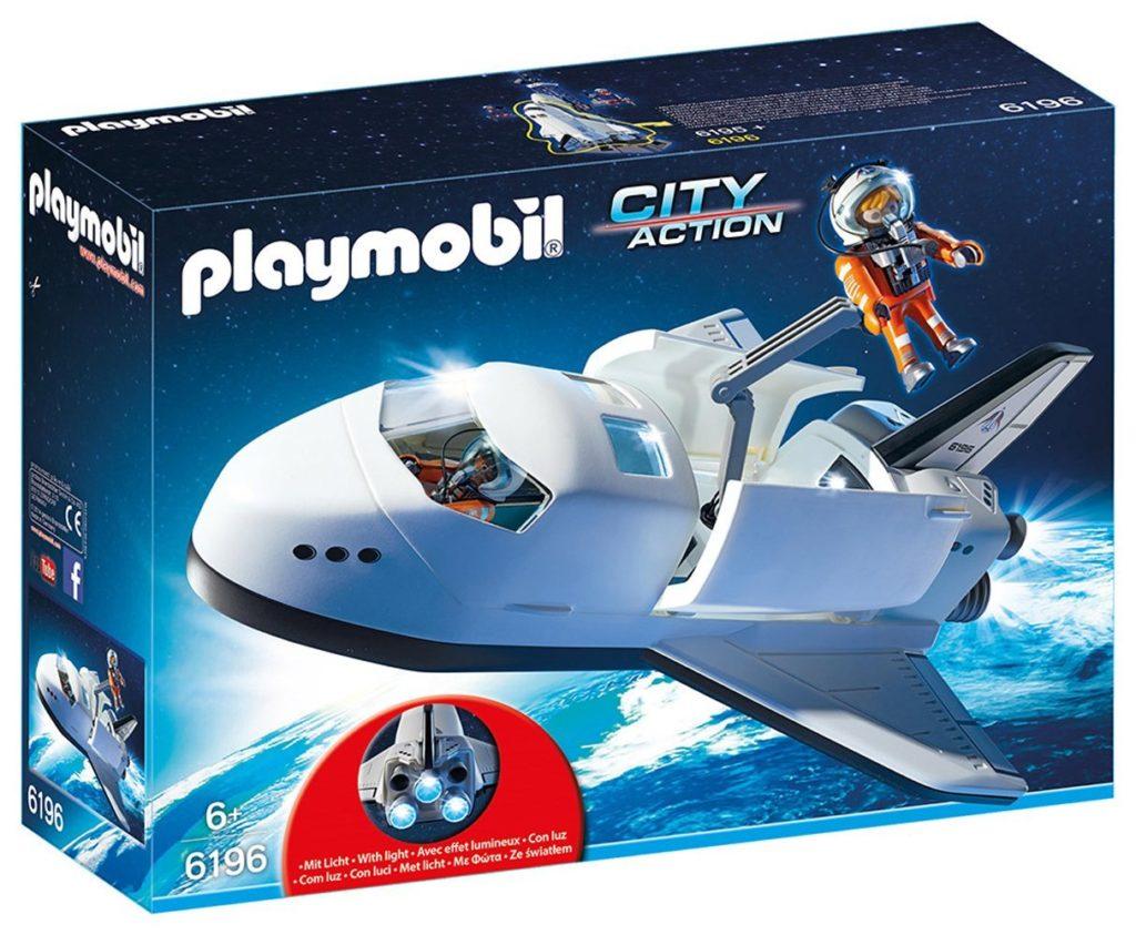 Juguetes de astronauta: lanzadera espacial Playmobil