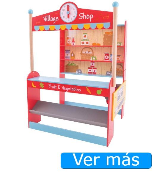 Supermercado de juguete Bigjigs