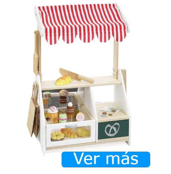 Supermercado de juguete: panadería