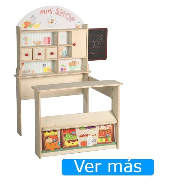 Supermercado de juguete para jugar a las tiendas Roba-Kids