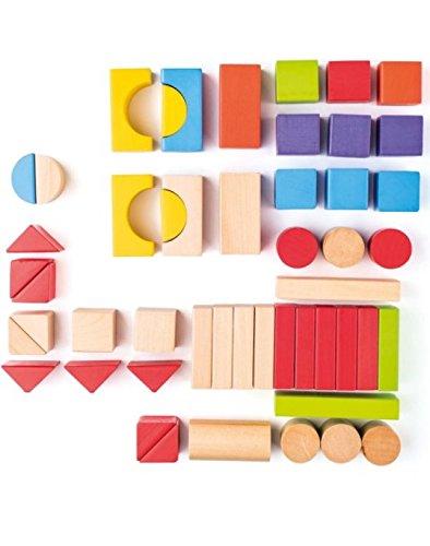 Bloques de madera de colores