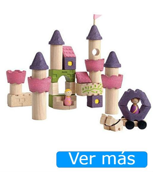 bloques de madera castillo de Plan Toys