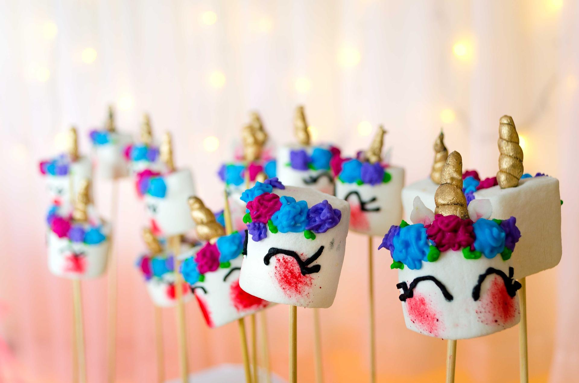 Cosas de unicornios para una fiesta temática