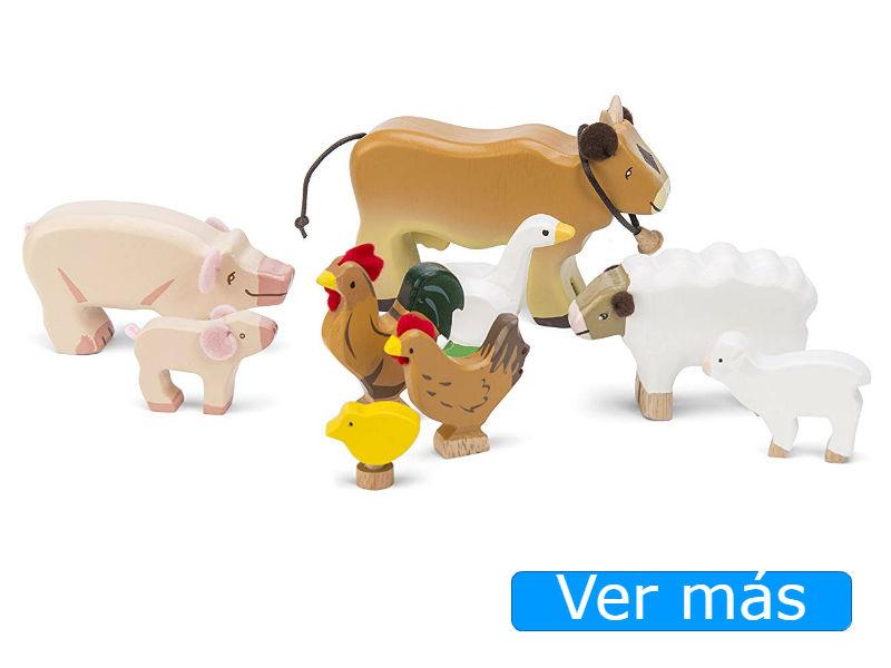 Animales de madera de Le Toy Van