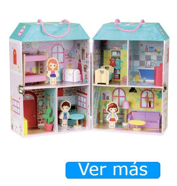 Casa de madera para muñecas Vilac