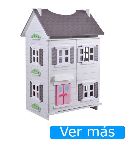 Casa de muñecas de madera ColorBaby