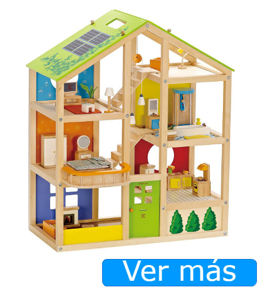 Juguetes de madera Hape: casa de muñecas de madera