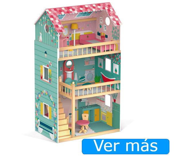 Casa de muñecas de madera Janod Happy Day