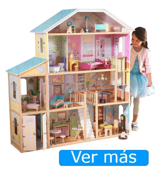 Casa de muñecas de madera Kidkraft