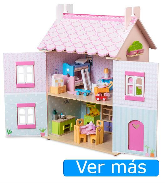 Juguetes de madera: casa de muñecas Le Toy Van
