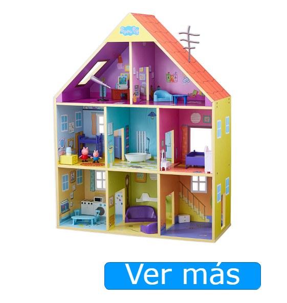 Casa de muñecas de madera Peppa Pig