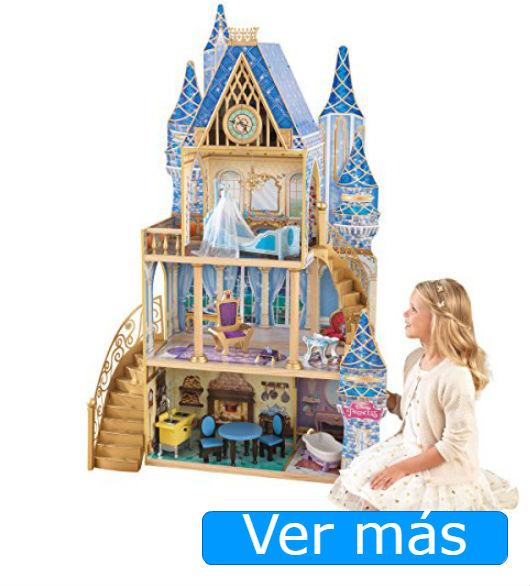 Casa de muñecas de madera palacio Disney