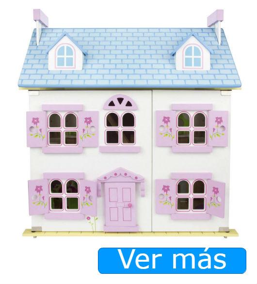 Casa de muñecas de madera Leomark