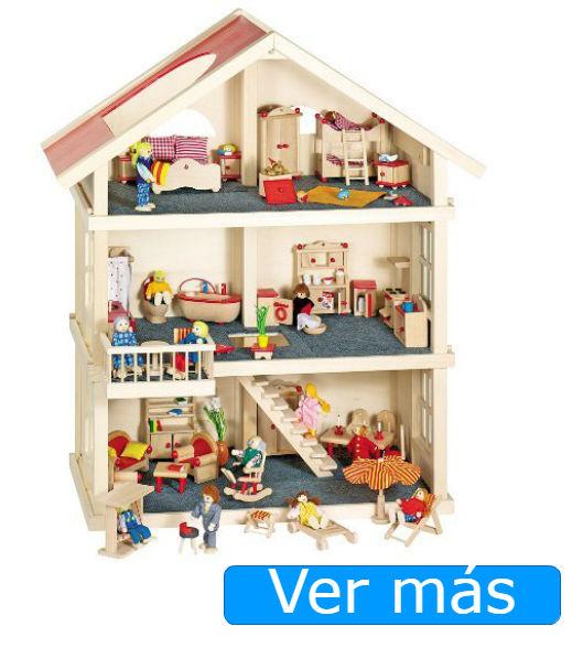 Casa de muñecas de madera Goki