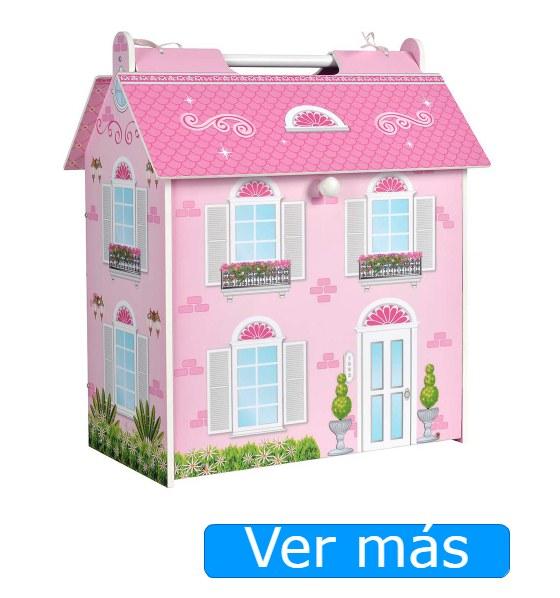Casas de muñecas baratas- casa de muñeca de madera Colorbaby