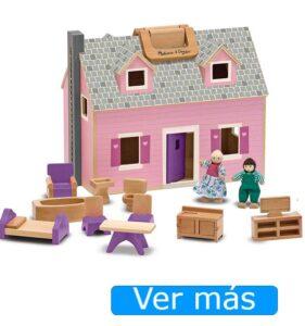 Casas de muñecas baratas-casa de muñecas de madera Vilac