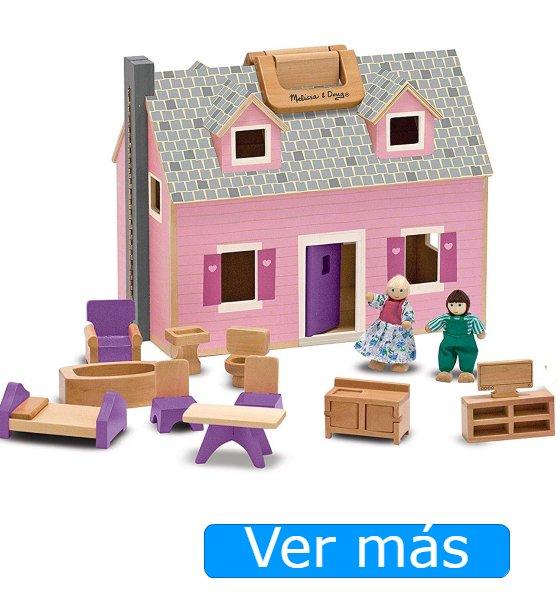 Casas de muñecas baratas-Casita de muñecas Melissa Doug
