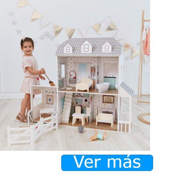 Casas de muñecas de madera Teamson