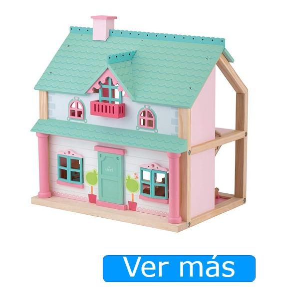 Casitas de madera para muñecas pequeñas Sevi