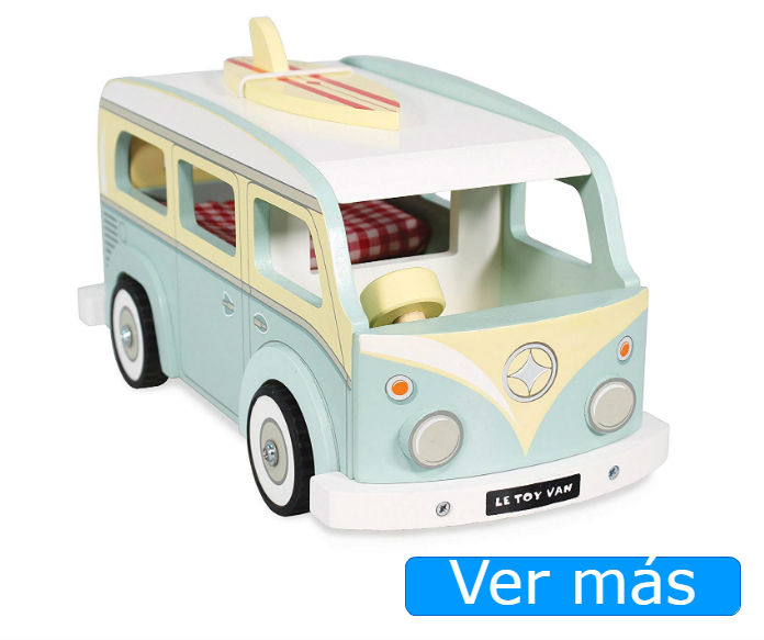 Coches de madera: caravana Le Toy Van