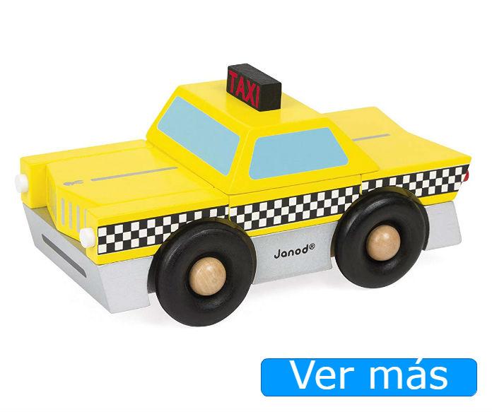 Coches de madera: taxi Janod