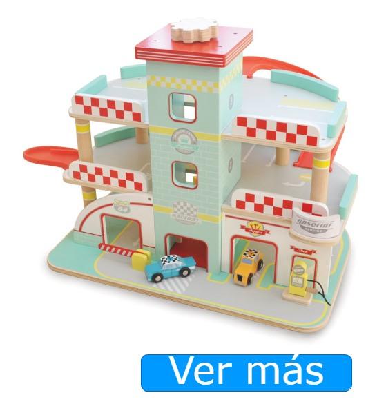 Garaje de juguete de madera Indigo Jamm