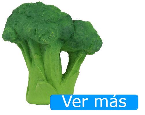 Juguetes para el baño: brócoli