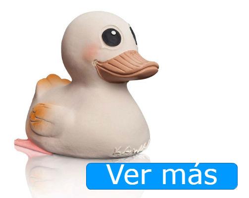 Juguetes para el baño ecológicos: pato