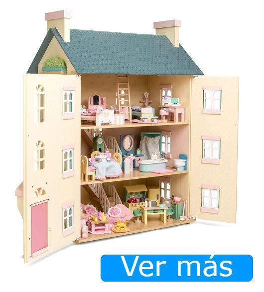 Muebles para casa de muñecas de madera Le Toy Van