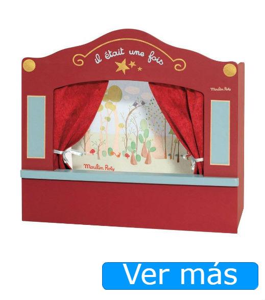 Teatro de marionetas Moulin Roty
