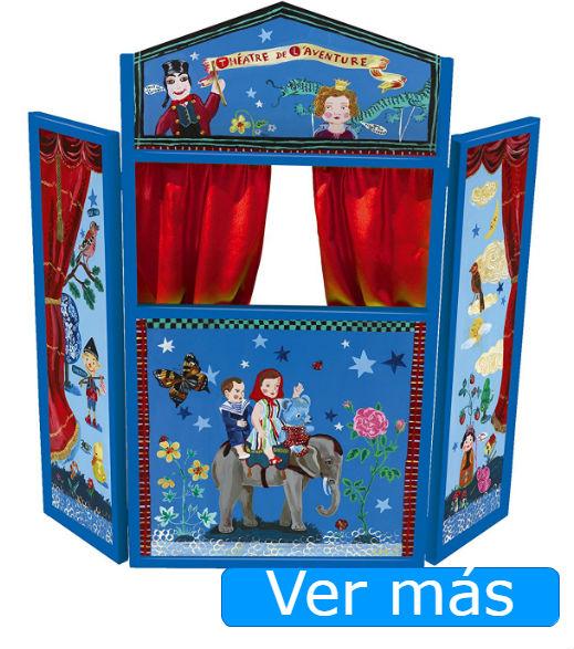 Teatro de marionetas de Vilac azul