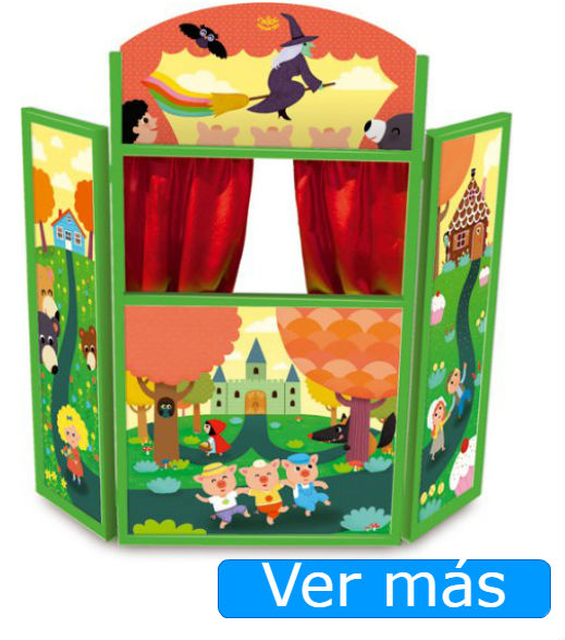 Teatro de marionetas de Vilac