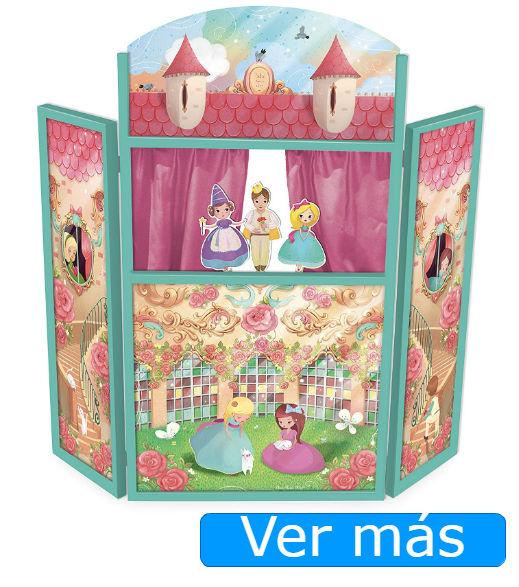 Teatro de marionetas de princesas