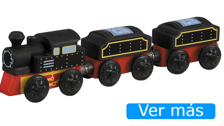 Tren de madera de Plan Toys