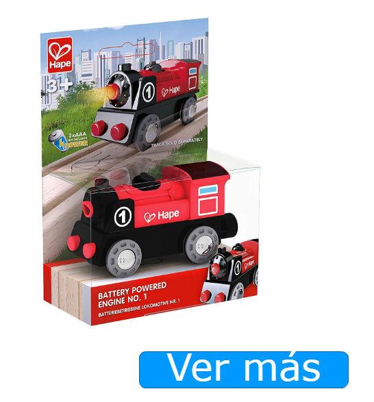 Tren de madera: locomotora Hape