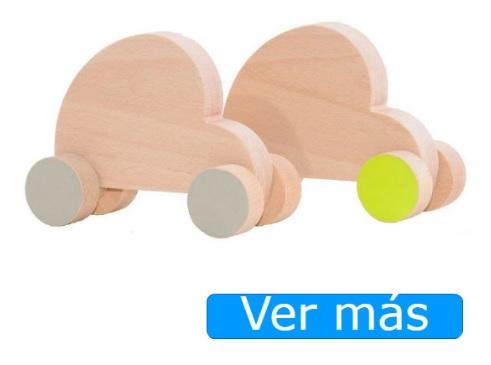 Coches de madera artesanales
