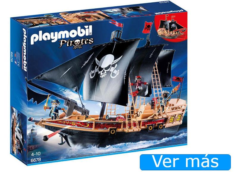 Barco Pirata Playmobil 6678 buque corsario