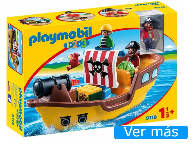 Barco pirata Playmobil 123