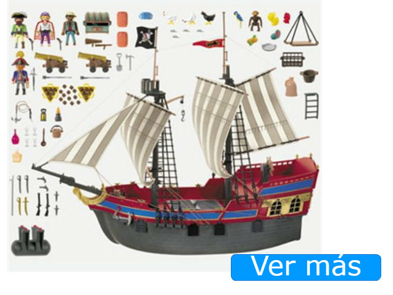 Barco pirata Playmobil 3940 buque grande