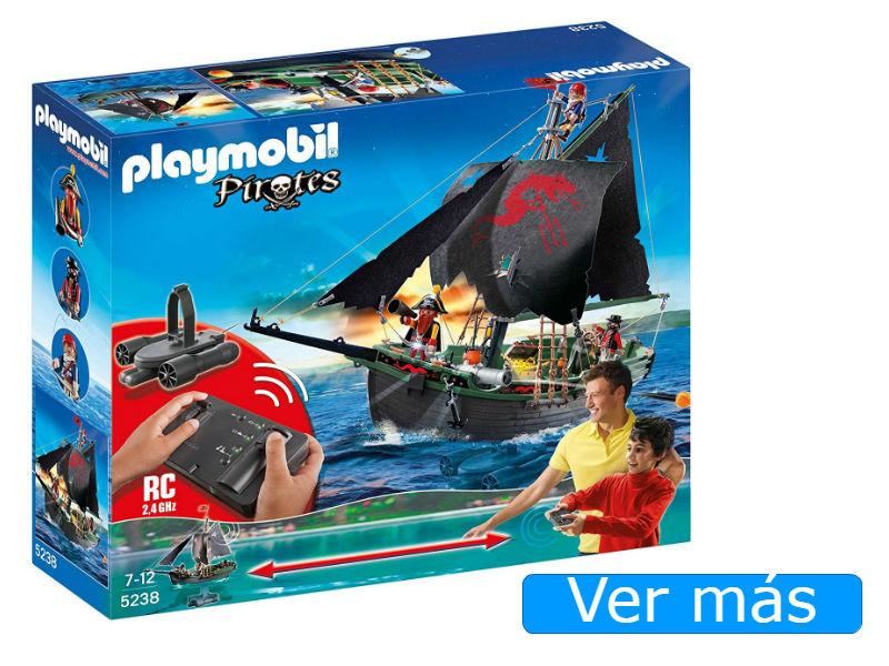 Barco pirata Playmobil 5238 con control remoto