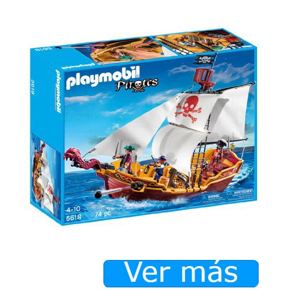 Barco pirata Playmobil 5618- Red Serpent