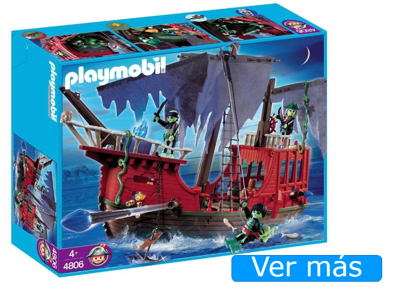 Barco pirata Playmobil fantasma