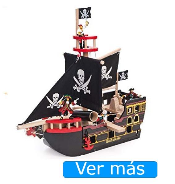 Barco pirata de madera Le Toy Van