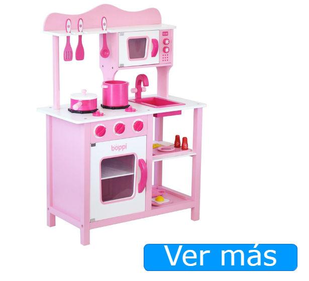 Cocinitas de madera rosa Boppi